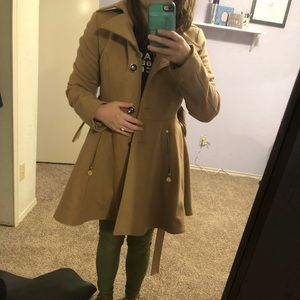 I.N.C Skirted Walker Coat
